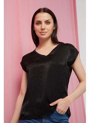 Modaset Bluz Siyah